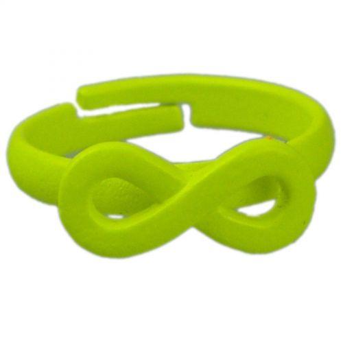 Ring Metal Infinite 4774 Flashy Green
