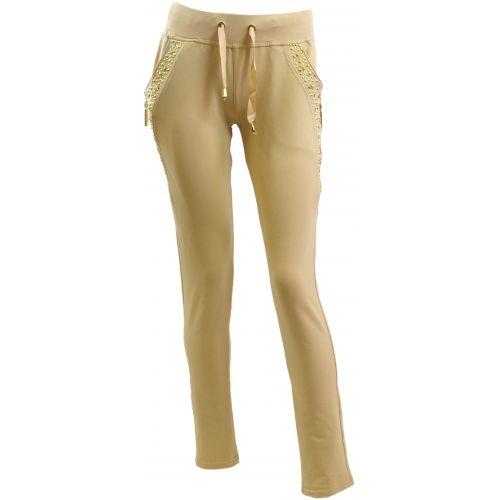 Pantalon Chic sportswear 5335 BEIGE S-M - 5335-18548