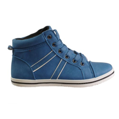 Basket hautes Mademoiselle J, 5960 Bleu