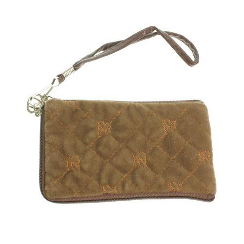 Quilted mobile cover, beige