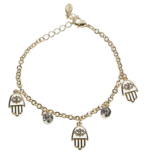 Bracelet Fatima's hand Rhinestone DOROTHY
