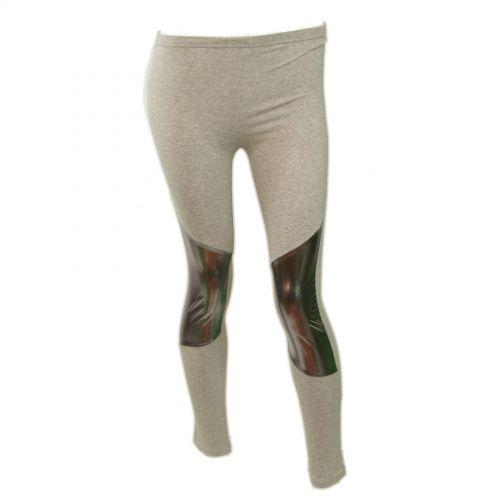Legging cotton, 9326 Gris-Argent