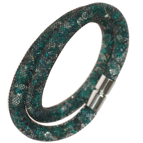 Bracelet glittering rhinestone crystal 9389 Silver