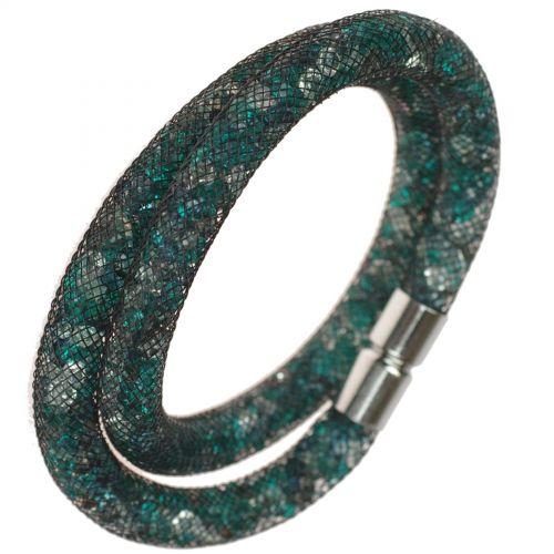Bracelet Wrap Cristal Shaphia Argenté, 9389