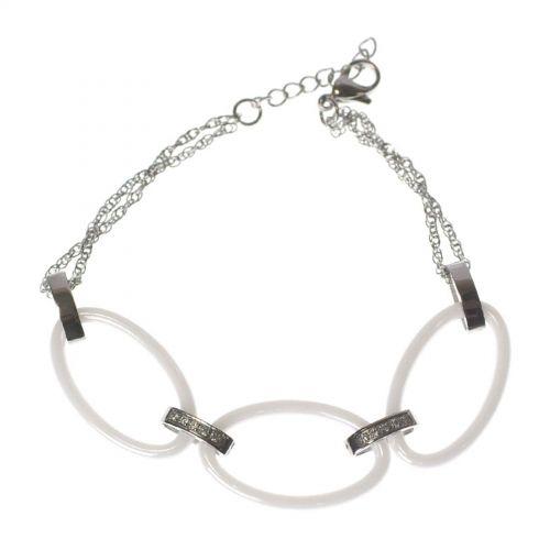 Bracelet céramique strass KIANA