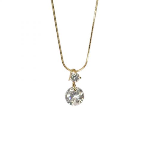 Fashion necklace crystal CHARLINE