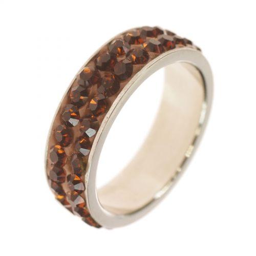 Zirconia Stainless Steel Ring SWANA