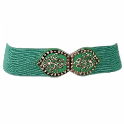 Fatma hand buckle elasticated waist Woman belt