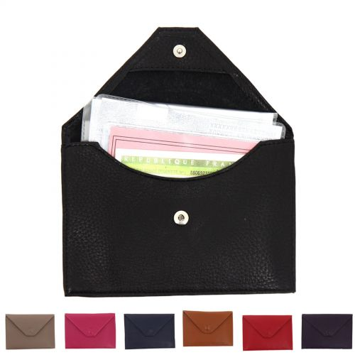AMELYS leather documents holder
