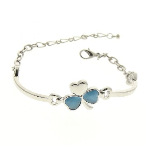 Pearl clover bracelet CELESTINA