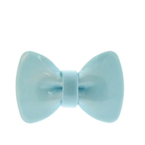 Bague Noeud Papillon XL, AOS-13 Bleu ciel - 3078-31548