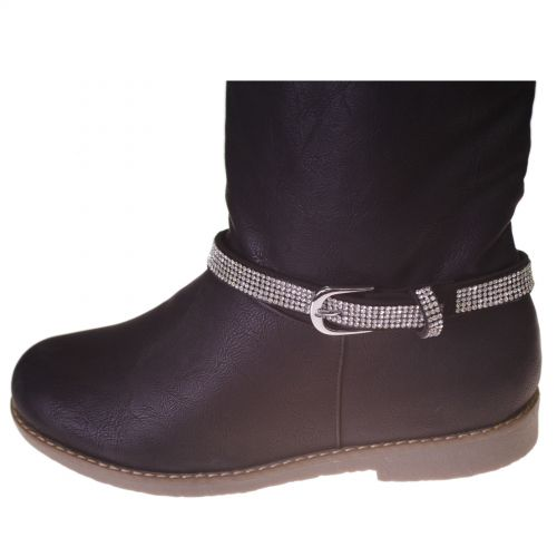 DENYA pair of boot's jewel Black (White) - 8955-31634