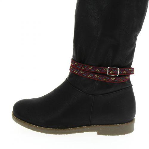 LOU-EVA pair of boot's jewel Red - 6050-31637