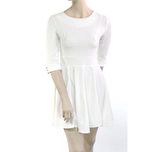 Tunique manches mi-longs STERNA Blanc - 9908-32086
