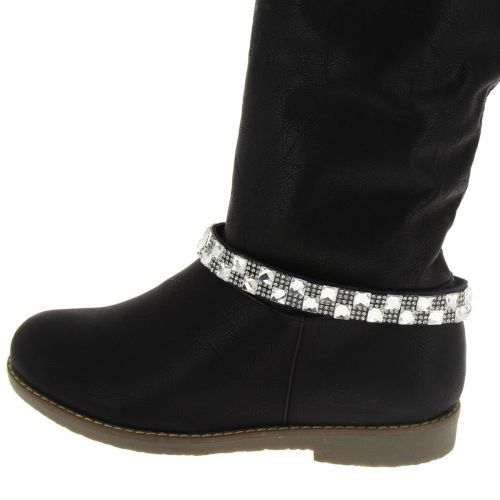 Irem pair of boot's jewel Blue-White - 6111-32464