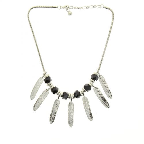 Collier plumes SHAMSY