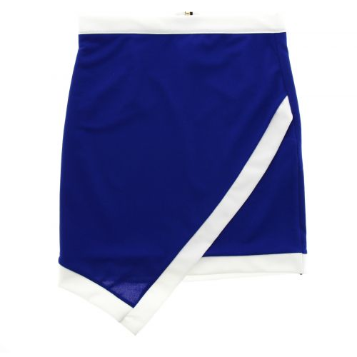 Jupe ANIFA Bleu cyan - 9978-33206