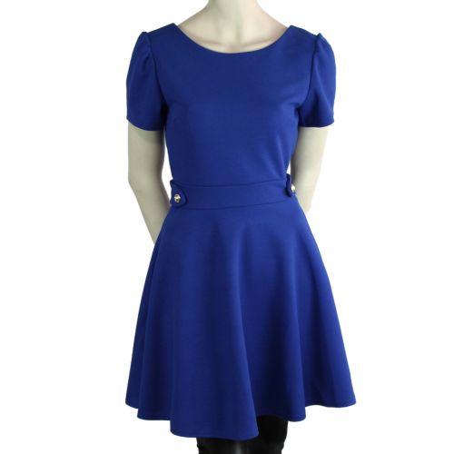 Robe YAYA Bleu cyan - 10000-33514