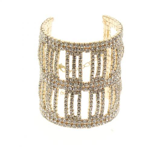 Fashion bracelet with zirconia ZULA
