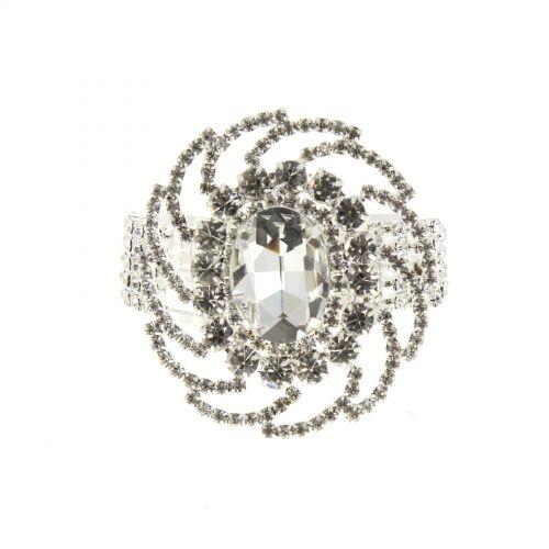 Fashion bracelet with zirconia JACOMINA