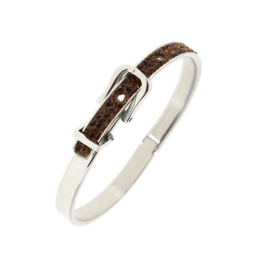 Strass Armband Stahl