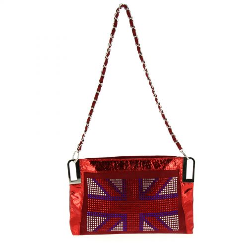 Sac pochette english Flag ANAIS Rouge - 10053-34449