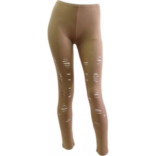 Legging à griffure Beige - 5028-36134