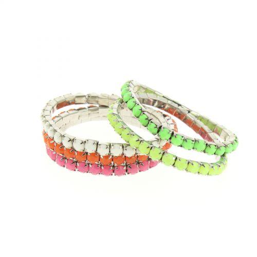 Bracelet extensible Strass XL SWANNY
