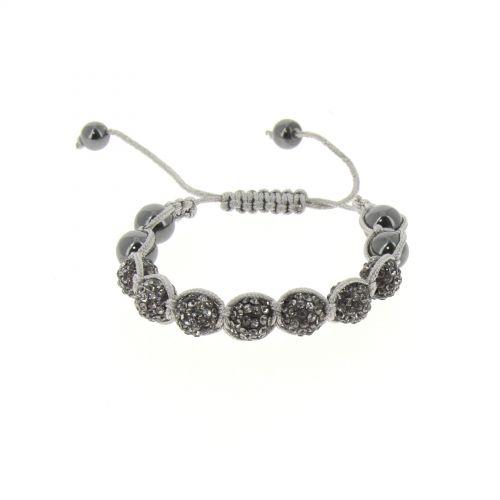 Bracelet shamballa Gris - 2432-36239