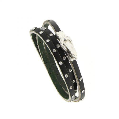 Bracelet wrap en cuir 8474 CEDELLA