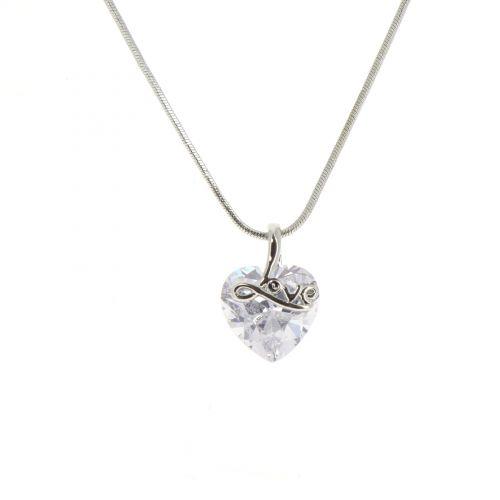 Collier pendentif coeur JOSETTE