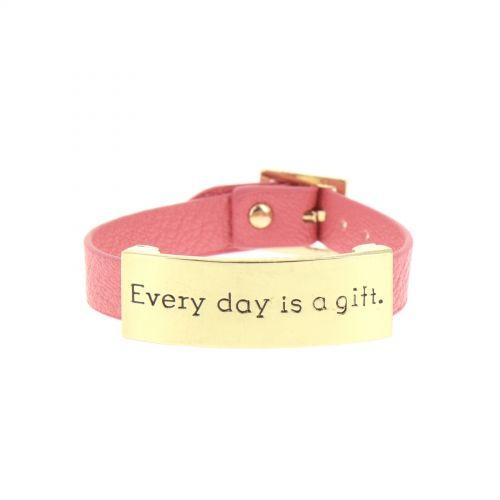 täglich Lederarmband ist ein Geschenk