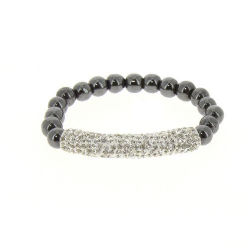 Shamballa mille rhinestones bracelet, KELSY