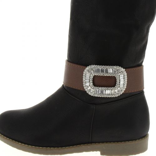 1 x Jewel boots similileather, 5703 Brown