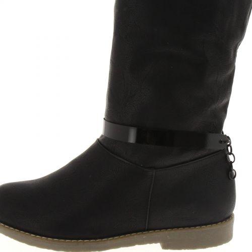 1 x boots jewel Bandeau metal Black