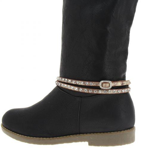 RIME pair of boot's jewel Golden (White) - 8953-37100