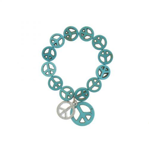 bracelet acrylique Bleu - 5196-37250
