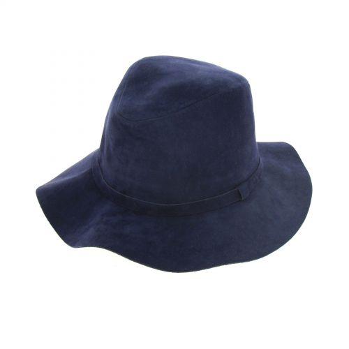 Chapeau mou feutre LAURICIA Bleu marine - 10220-37468