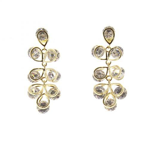 Boucles d'oreilles cristal Zirconium ARWA