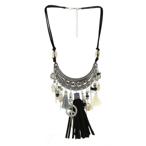Anne-Constance necklace Black - 10411-38943