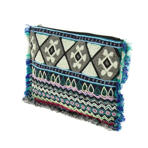 Bag zip 6692 Beige Blue - 10508-39717