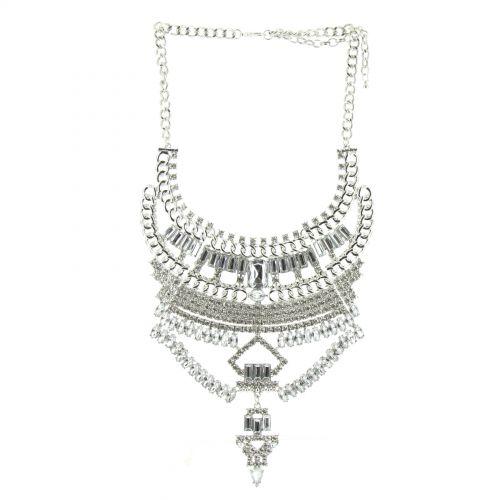 PAULA plastron necklace