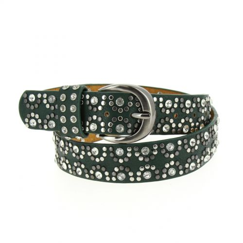 LAILA studded leather belt