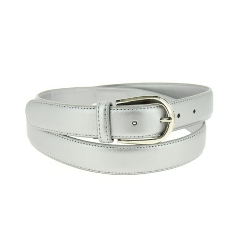 3 cm large women leather belt, ROZEEN