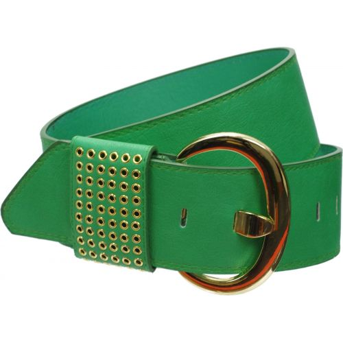 Wide Leatherette belt, PIRITTA