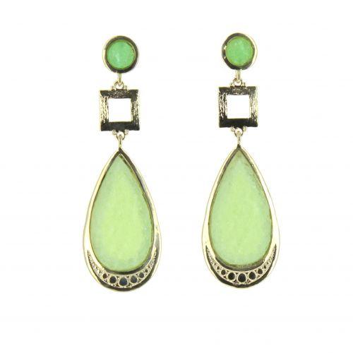 Vintage Beaded Dangle Drop earrings for woman, CILI