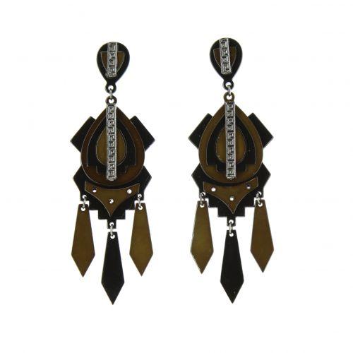 Sheina acrylic earrings