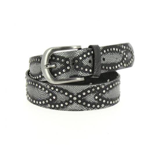 Rivets leather belt Capucina