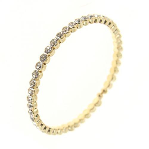 Bracelet metal rhinestone LYNETTE