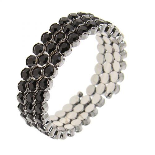 Bracelet métal à strass Lynette